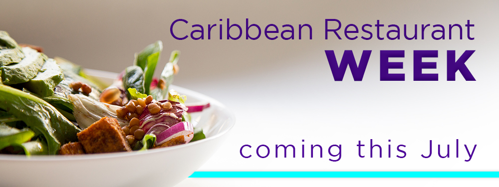 Caribbean restaurant week coming in July