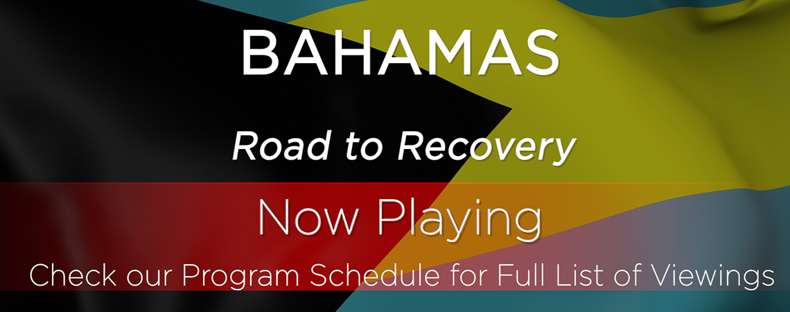Bahamas Road to Recovery: October 3 at 7:30 p.m.