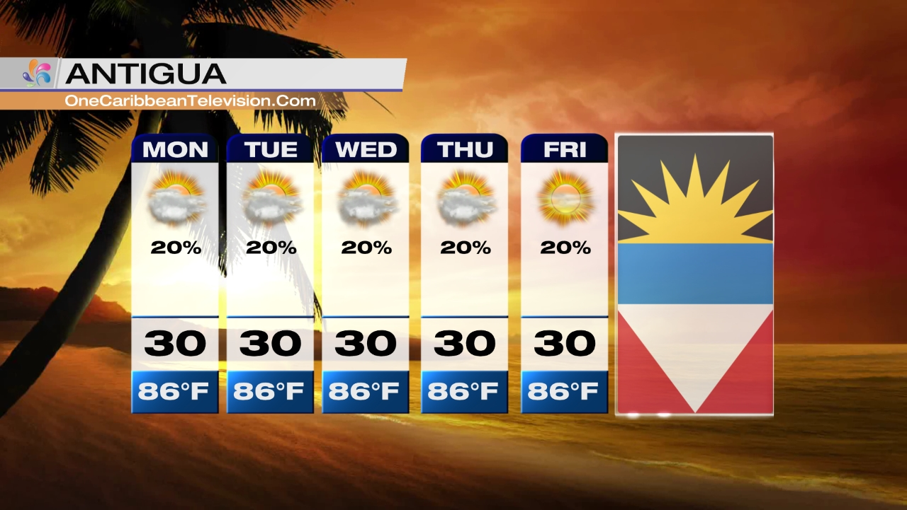 5-Day Forecast – One Caribbean Television