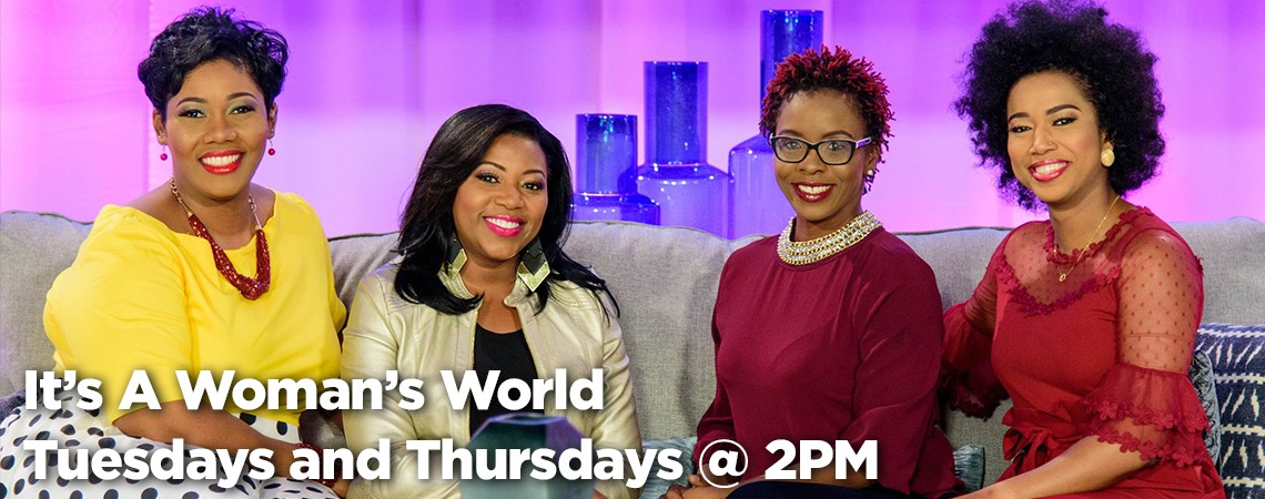 It's a Woman's World - Tuesday and Thursday Mornings at 8 a.m.